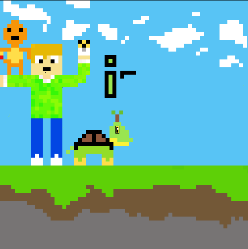 iSparrow pixel art insta