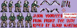 NES Friday The 13th (Part 3 Colours)