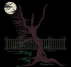 Moonlit Bare Tree
