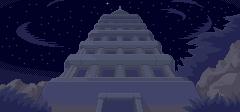 Tower Concept Art (Night)