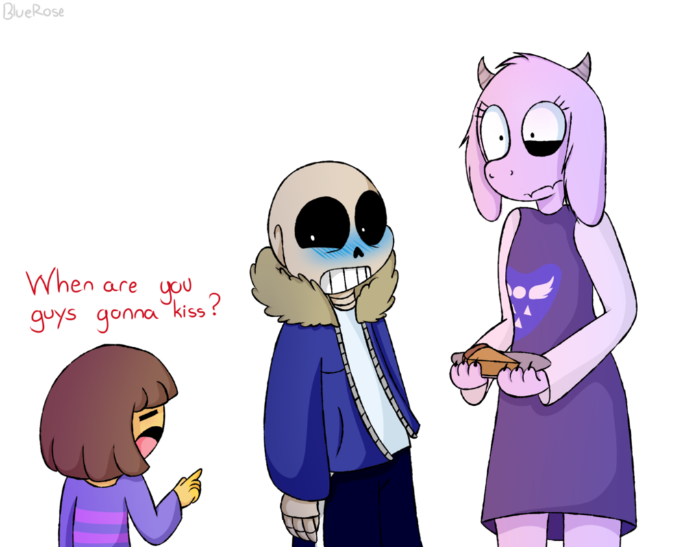 My nephew's result(Frisk) My result(Sans) and kat's result(toriel) for a quiz