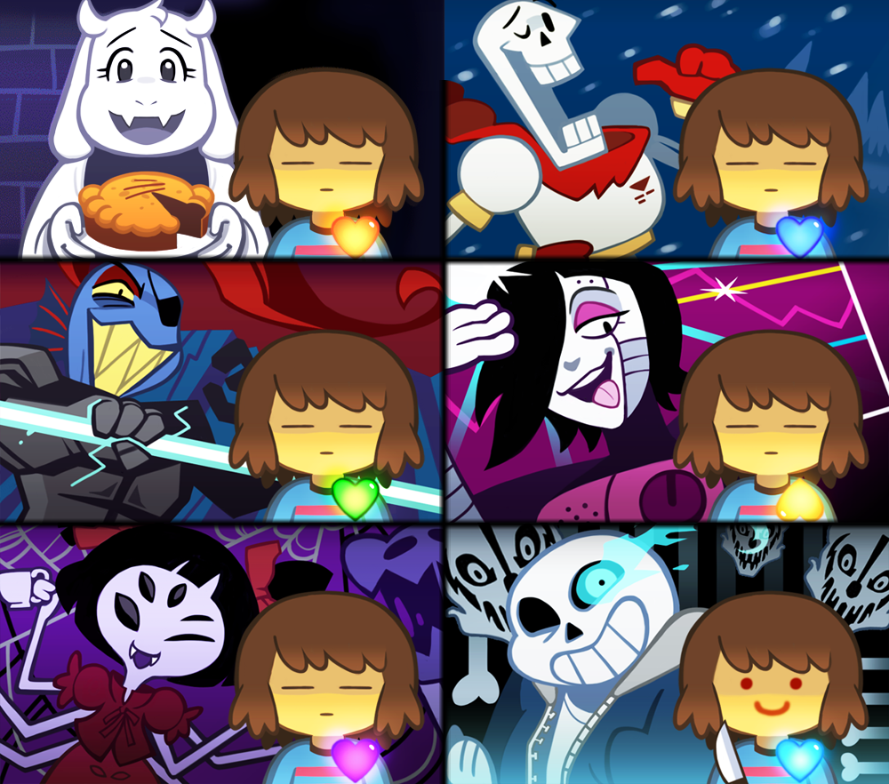 Ok heres something i don't understand:in all the pics but one,frisk's eyes are closed but In the sans pic her eyes are open,does this mean that sans triggers frisk to open her eyes? (i know frisk is genderless but i call frisk a girl)