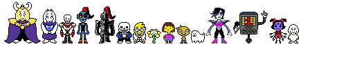 Undertale All Characters