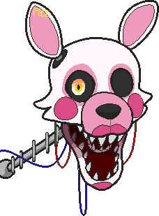 Mangle gets Eraser and Grounded