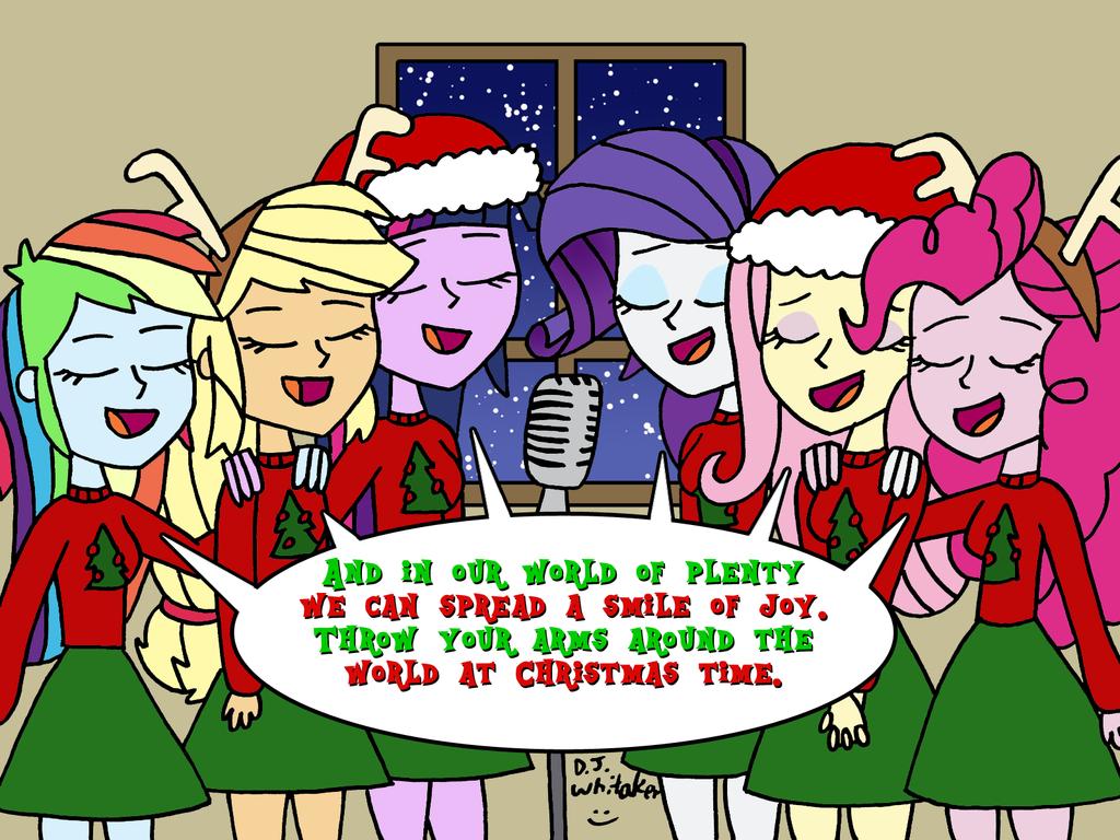 Christmas carol of ponies