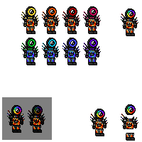 Characters-colors