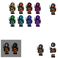 Character colors done