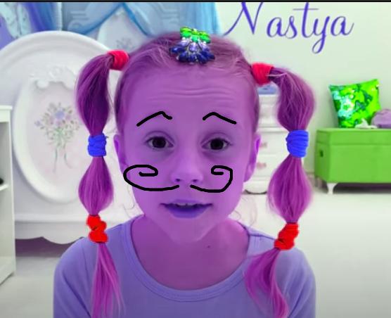 404 Nastya she is a terrible force  422