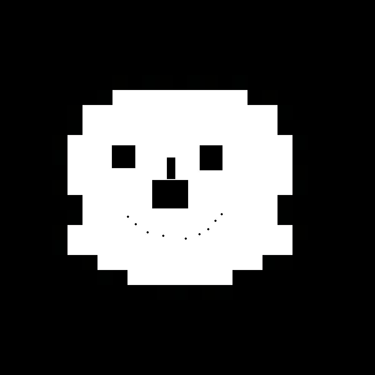 snowman design of sans